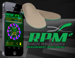 rpm2 footbed app dash