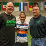 "RPM2 CEO Johnny Ross and Retail Manager Keith Hill with Mirinda ""Rinny"" Carfrae"