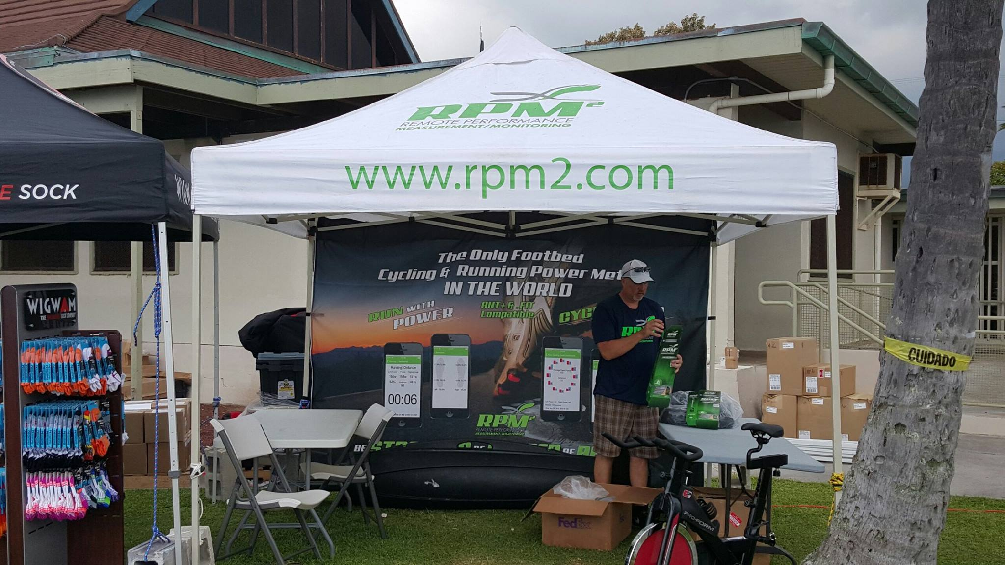 keith hill rpm2 ironman booth